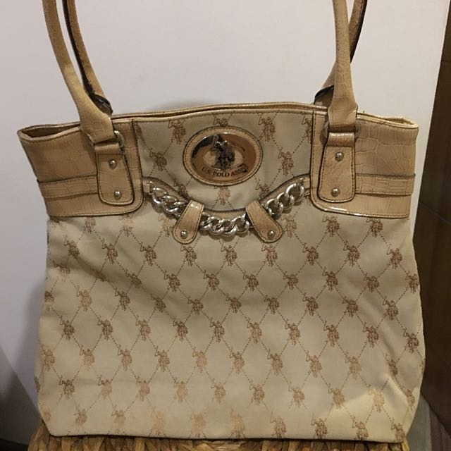 U.S. Polo Assn. Large Tote