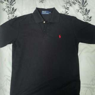 New Polo Ralph Lauren (Dark Blue Polo Shirt) S
