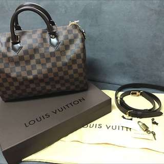 Louis Vuitton N41367 Speedy 30 棋盤格經典款