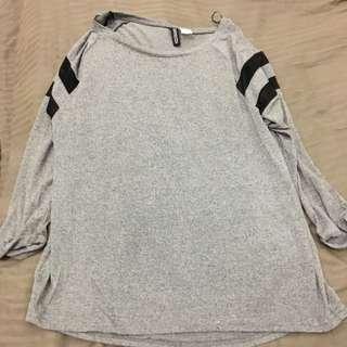 H&M tshirt 7/8 Sleeve