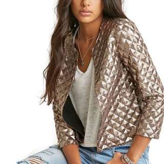 [PREMIUM] Vogue Lozenge women Sequins Jackets