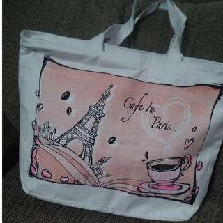 Eiffel Tower in Paris Design Tote Bag