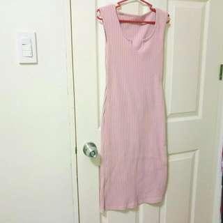 Bodycon Long Dress *pink