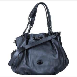 Braun Buffel Dark Grey Bucket Shoulder Bag