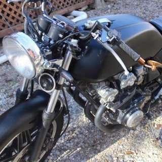 1982 Honda CB750 F Super Sport Cafe Racer Motorcycle