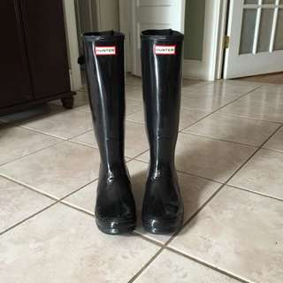 Hunter Rain Boots Size 9