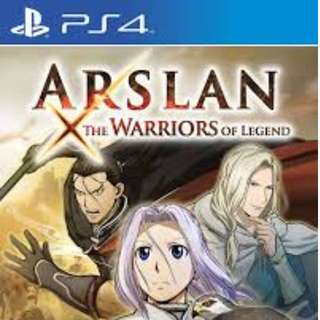 Arslan PS4