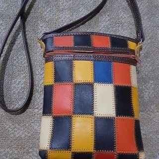 BN! Genuine Leather Sling Bag