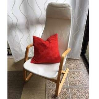 Armchair / reading chair with headrest