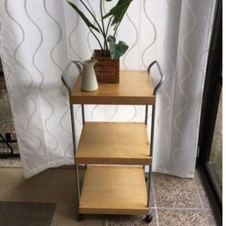 ON HOLD Dinnerware trolley / shelves / cabinet / presentation / storage