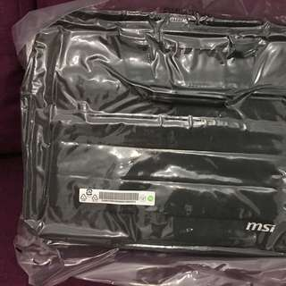 Msi Original Laptop Beg 15.6 Inch