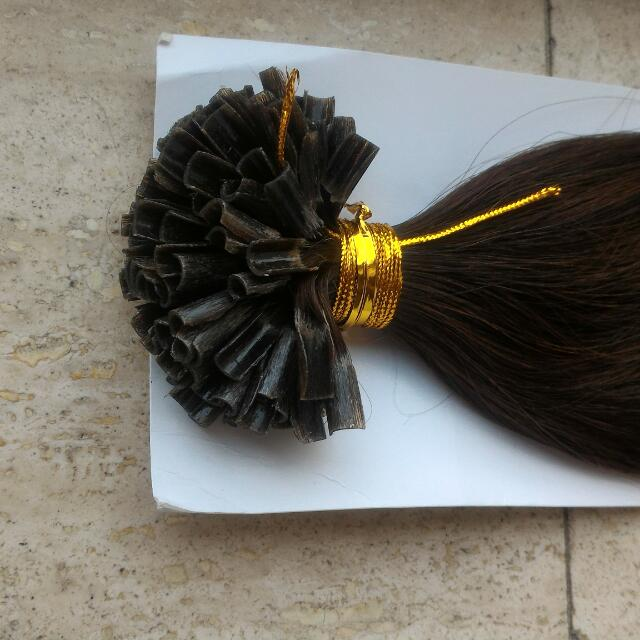 100 STRANDS U TIP FUSION HAIR EXTENSIONS