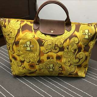 Longchamp x Jeremy Scott 登機包