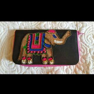 Brand New Beaded Wallet