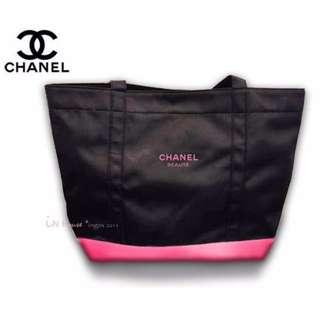 IN House* 香x 彩妝保養專櫃贈品~黑絲綢手提包側背包托特包購物袋書包- 3色擇1 (特價)