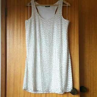 Portmans Beaded Dress - Size 16