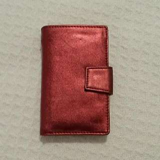 Red Metallic Wallet