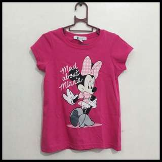 Minnie Mouse Tshirt (2-3 y.o)