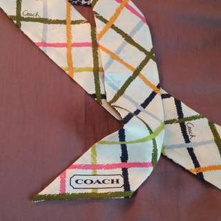 Coach Silk Neck Tie