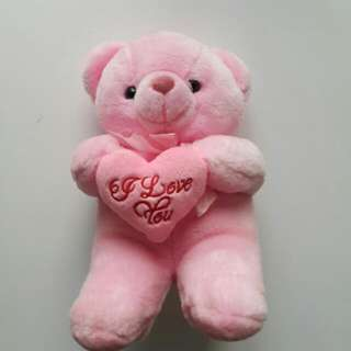 I Love You Pink Bear