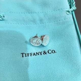 Tiffany Co Circle Stud Er