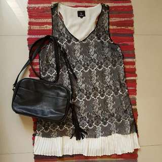 Hot And Delicious Black Lace Dress From PEOPLE ARE PEOPLE