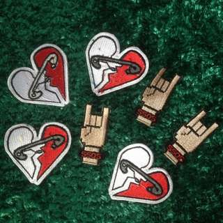 5SOS Patch kaos limited edition