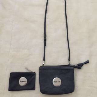 Mimco Denim Secret Couch ONLY (Pouch Has Sold Pending Payment)