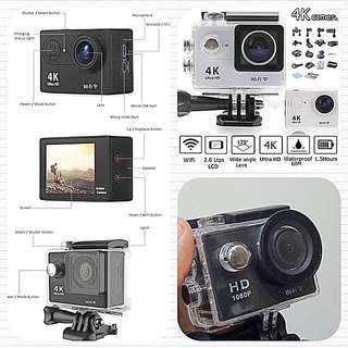 4K Action Camera With Wifi