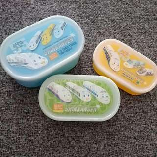 Food Storage Containers For Kids - Set Of 3
