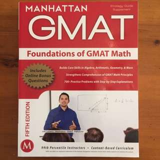 Manhattan GMAT - Foundations Of GMAT Math