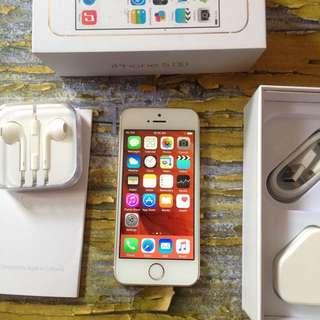 iPhone 5s 64GB Gold, Mulus Body, Fungsi Oke, Fullset