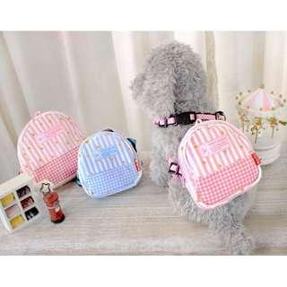 Petstyle  背包包 胸背帶 寵物 狗 胸背+牽繩 【狗狗研究所】