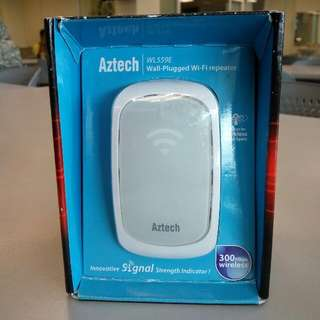 Aztech WL559E Wall-Plugged WiFi Repeater
