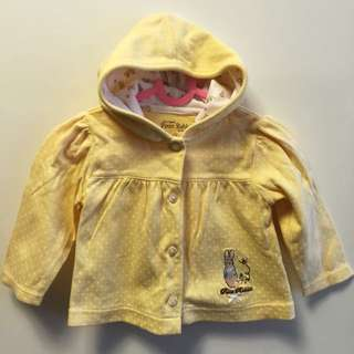 Peter Rabbit Hoodie Jacket And Long Pants (Size 3-6 Mths)