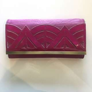 Purple Kardashian Kollection Wallet/purse
