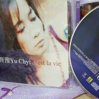 🚚 齊豫  CD  英文專輯  C'est la vie   1999   滾石   Yu Chyi