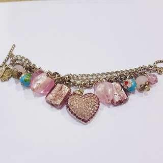 Design Market Handmade Charm Bracelet 'Mayfair'