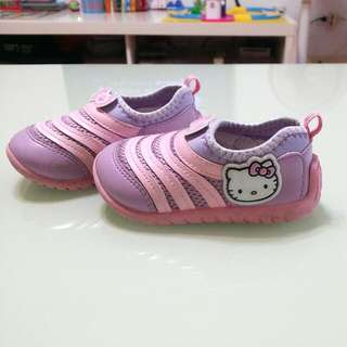 Hello Kitty 童鞋 女童毛毛蟲休閒鞋 布鞋