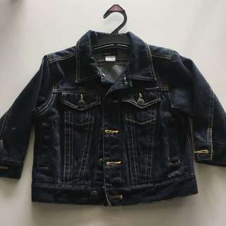 Size 3 Fred Bear Unisex Denim Jacket