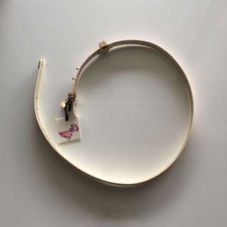 Brand New Alannah Hill NUDE Young Wild And Free Belt