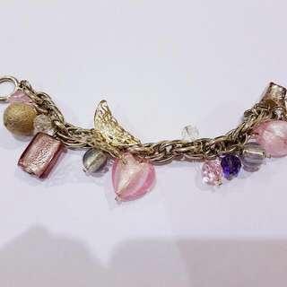 Design Market Handmade Charm Bracelet 'Demure'