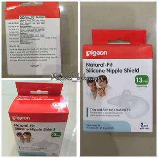 Silicone Nipple Shield Pigeon