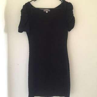 TEMT Black Dress Sz M