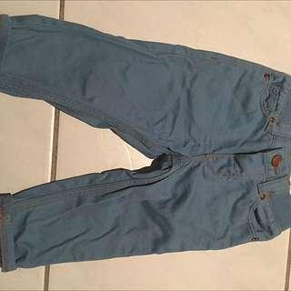 H&M Baby Pants denim size: 6-9M