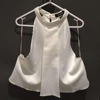 White Singlet Top (size 10)