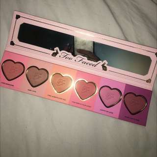Limited Edition Too Faced Blush Palette