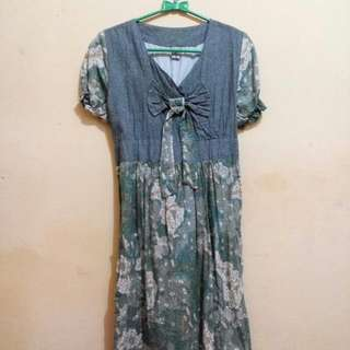 Free Ongkir Dress Batik Solo
