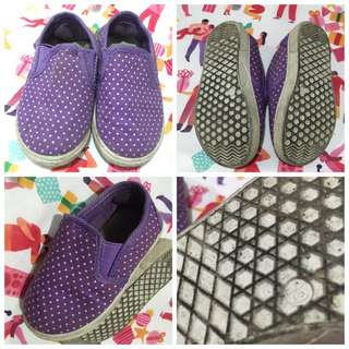 Slip-On Shoes, Purple, S19, 14cm, P50.** only.