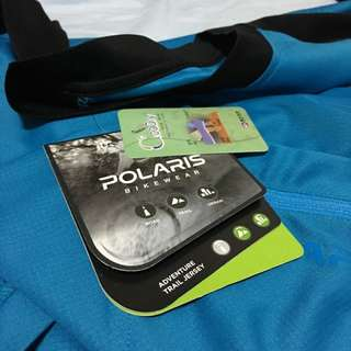 BNWT Polaris Bike Short Sleeve Jersey